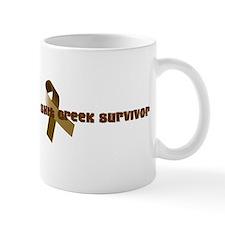 Unique Shit creek survivor Mug