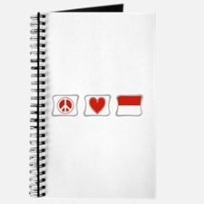 Peace, Love and Indonesia Journal