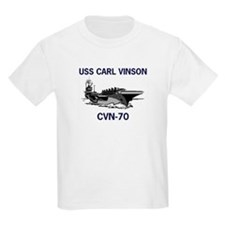 USS CARL VINSON Kids T-Shirt