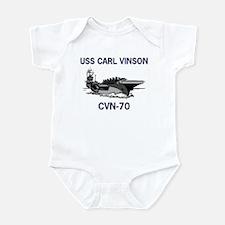USS CARL VINSON Infant Creeper