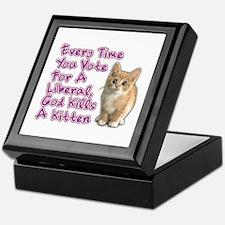 God Kills A Kitten Keepsake Box