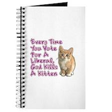 God Kills A Kitten Journal