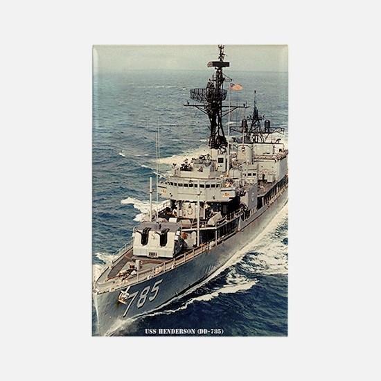 USS HENDERSON Rectangle Magnet