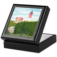 Nauset Beach Lighthouse Keepsake Box