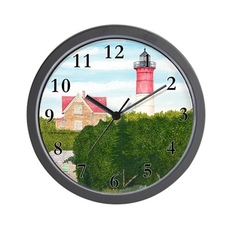 Nauset Beach Lighthouse Wall Clock