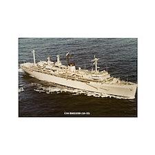 USS HOLLAND Rectangle Magnet