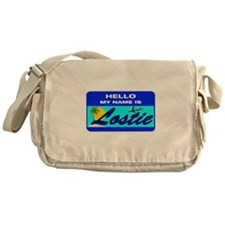 Hello My Name is Lostie! Messenger Bag