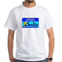Hello My Name is Lostie! White T-Shirt