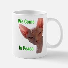 Nikita We come in peace Cut out 2 Mugs