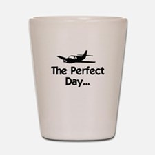 Perfect Day Airplane Shot Glass