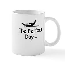Perfect Day Airplane Small Mug