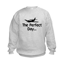 Perfect Day Airplane Sweatshirt