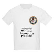 Witness Protection Program Kids T-Shirt