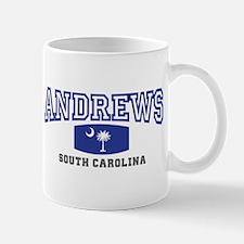 Andrews South Carolina, SC, Palmetto State Flag Mu
