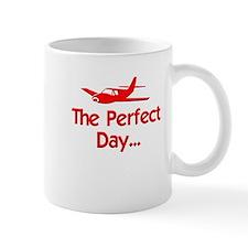 Perfect Day Airplane Mug