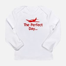 Perfect Day Airplane Long Sleeve Infant T-Shirt