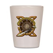 Celtic Warrior Irish Shot Glass