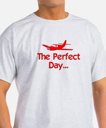 Perfect Day Airplane T-Shirt