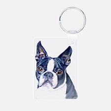 Cool Boston terrier Keychains