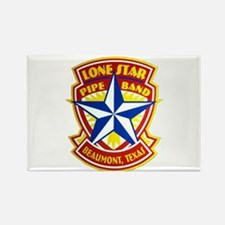 Lone Star Pipe Band logo Rectangle Magnet