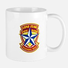 Lone Star Pipe Band logo Mug