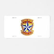 Lone Star Pipe Band logo Aluminum License Plate
