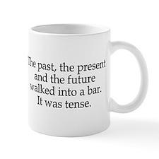 Past Present Future Tense Mug