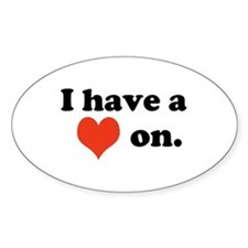 Cute Romance and sexuality Decal