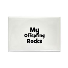 My Offspring Rocks Rectangle Magnet