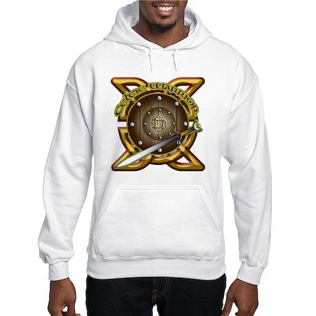 Celtic Warrior Irish Hooded Sweatshirt