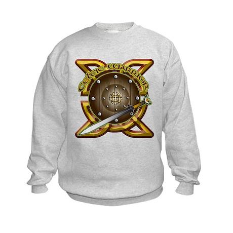 Celtic Warrior Irish Kids Sweatshirt