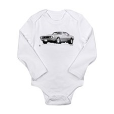 Funny 1968 Long Sleeve Infant Bodysuit