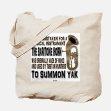 Baritone Horn - Summon Yak Tote Bag