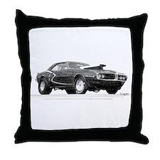 Unique Pontiac firebird Throw Pillow