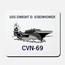USS EISENHOWER Mousepad