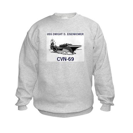 USS EISENHOWER Kids Sweatshirt