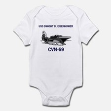 USS EISENHOWER Infant Creeper