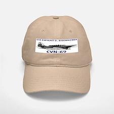 USS EISENHOWER Baseball Baseball Cap
