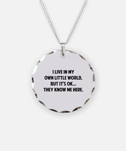 They Know Me Here Necklace