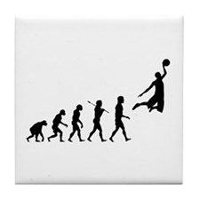 Cute Basketball Tile Coaster