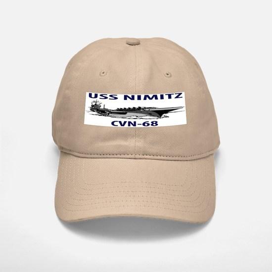 USS NIMITZ Baseball Baseball Cap