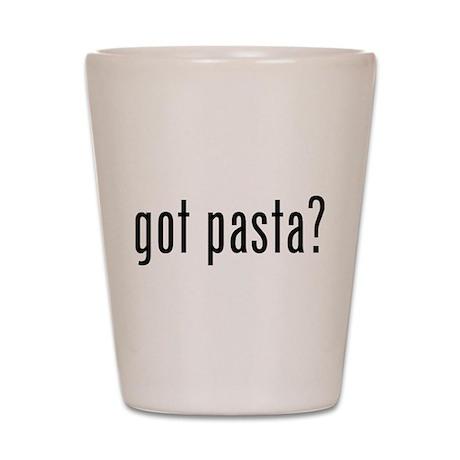 Got pasta? Shot Glass