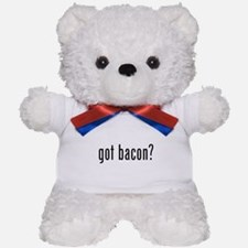 Got bacon? Teddy Bear