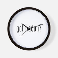 Got bacon? Wall Clock