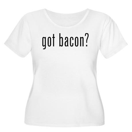 Got bacon? Women's Plus Size Scoop Neck T-Shirt