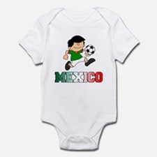 Mexican Soccer (Football) Infant Bodysuit