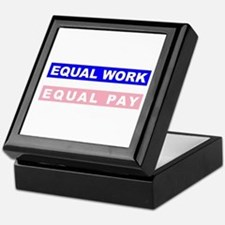 Equal Work Equal Pay Keepsake Box
