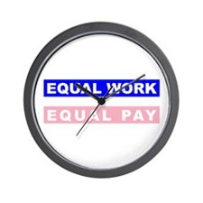 Equal Work Equal Pay Wall Clock