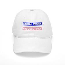 Equal Work Equal Pay Baseball Baseball Cap