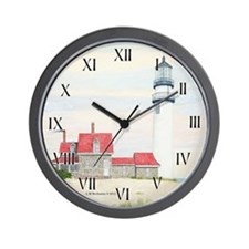 Stiff Breeze At Day's End Wall Clock